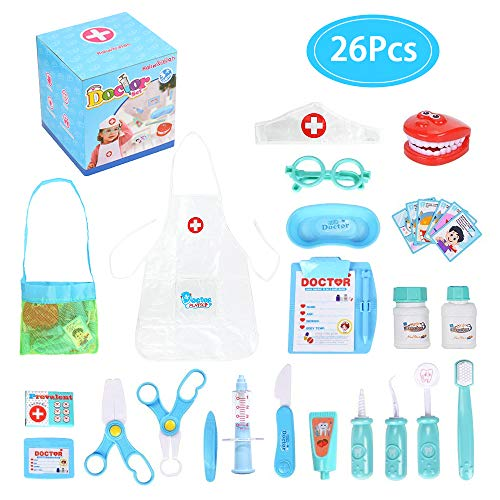 Great Doctor and Dentist toy kit for kids