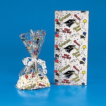 Graduation Goody Bags - Party Favor & Goody Bags & Cellophane Treat Bags