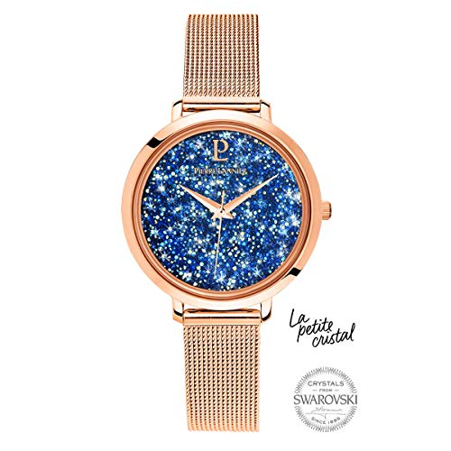 Pierre Lannier La Petite Swarovski Crystal Milanese Steel Ladies Watch