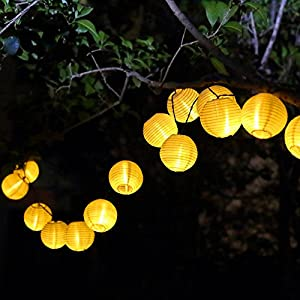 solar lichterkette xpassion 20er led lampions laterne wasserfest lichterkette garten innen und. Black Bedroom Furniture Sets. Home Design Ideas