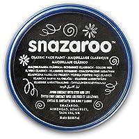 Snazaroo - Pintura facial y corporal, 18 ml, color negro