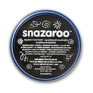 Snazaroo Classic Face Paint, 18ml, Black