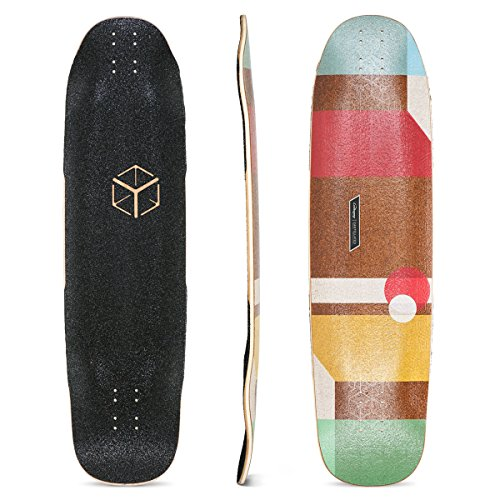 Loaded Boards Cantellated Tesseract Bamboo Longboard Skateboard Deck