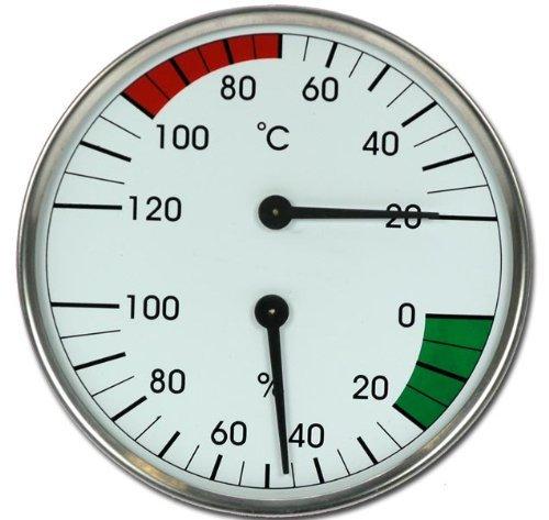 Sauna Instrument Thermometer Hygrometer Dampfbad Modell ELECSA 9010 Elecsa GmbH