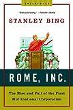 Rome, Inc, Stanley Bing, 0393329453