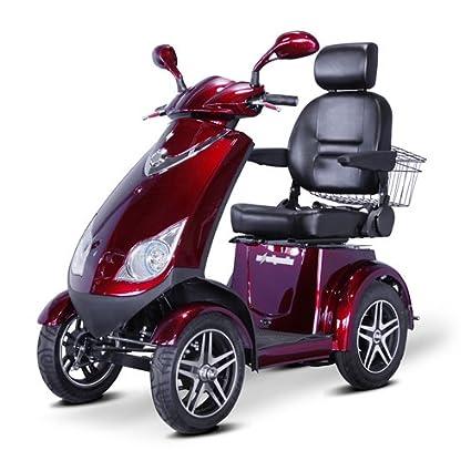Amazon.com: EWheels - Ciclomotor de 4 ruedas muy resistente ...
