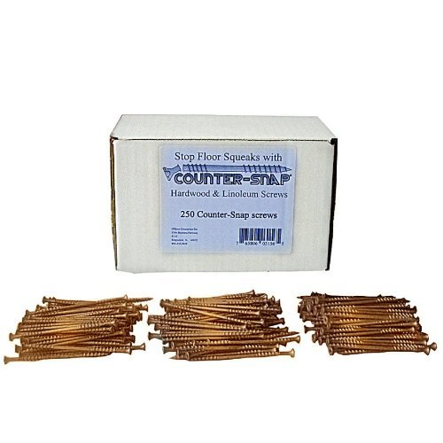 Squeeeek No More Part # 3156 Counter Snap *At Joist Only* Kit Replacement Screws - Pack of 250