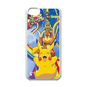 [H-DIY CASE] For Iphone 5c -Lovely Pikachu-CASE-4