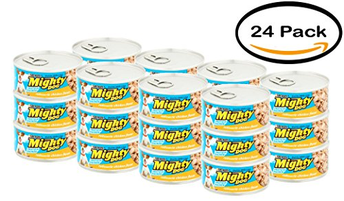 PACK OF 24 - Purina Mighty Dog Rotisserie Chicken Flavor Dog