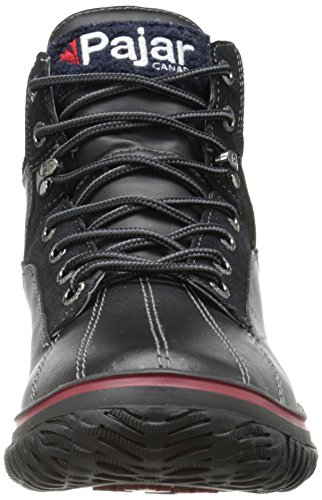 Pajar GUARDO - botas de nieve de piel hombre Black