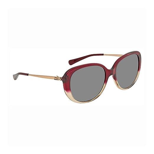 721b5b318 Coach Women's HC8215 Sunglasses Red Sand Gradient/Dark Grey Solid 57mm