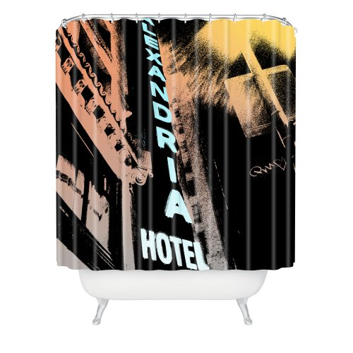 Deny Designs Amy Smith Alexandria Hotel Shower Curtain, 69