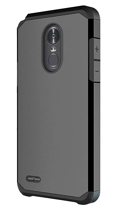 ... OEAGO Hybrid Shockproof Drop Protection Impact Rugged Case Armor Cover for LG Stylo 3 / LG Stylo 3 Plus - Black: Cell Phones & Accessories
