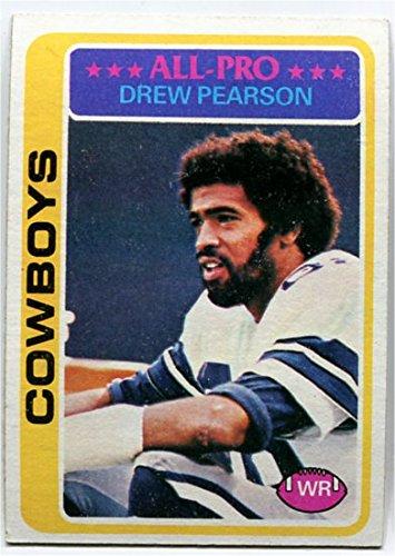 - Topps 1978 Drew Pearson Card #350 Dallas Cowboys Tulsa