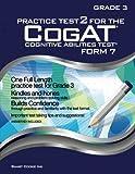Practice Test 2 for the CogAT - Form 7 - Grade 3