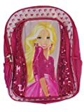 Barbie Doll Full BackPack - Barbie Large School Bag