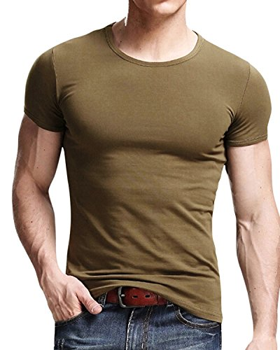 Classic Army Green T-shirt - 8