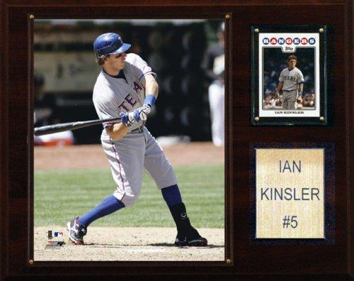 MLB Ian Kinsler Texas Rangers Player Plaque