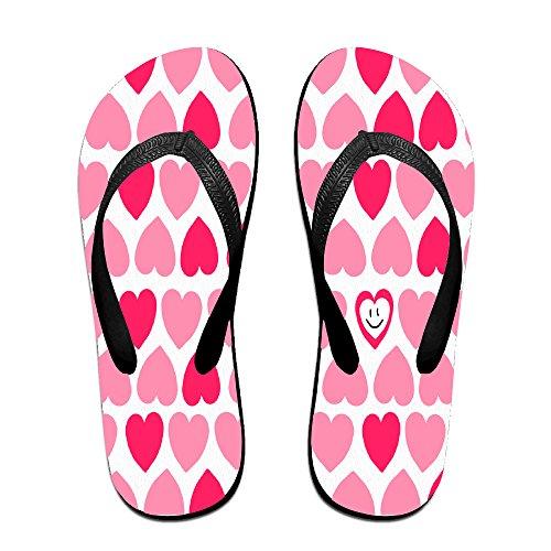 a188cfa3aa931 high-quality Red Hearts Summer Casual Wedge Platform Flip Flops Beach  Sandals