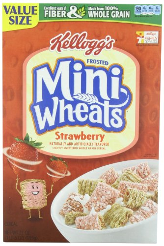 Kelloggs Frosted Wheats Strawberry Delight product image
