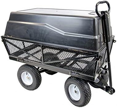 The Handy multiusos de jardín carrito/carrito/remolque – ideal para transportar herramientas, plantas y residuos de jardinería: Amazon.es: Jardín