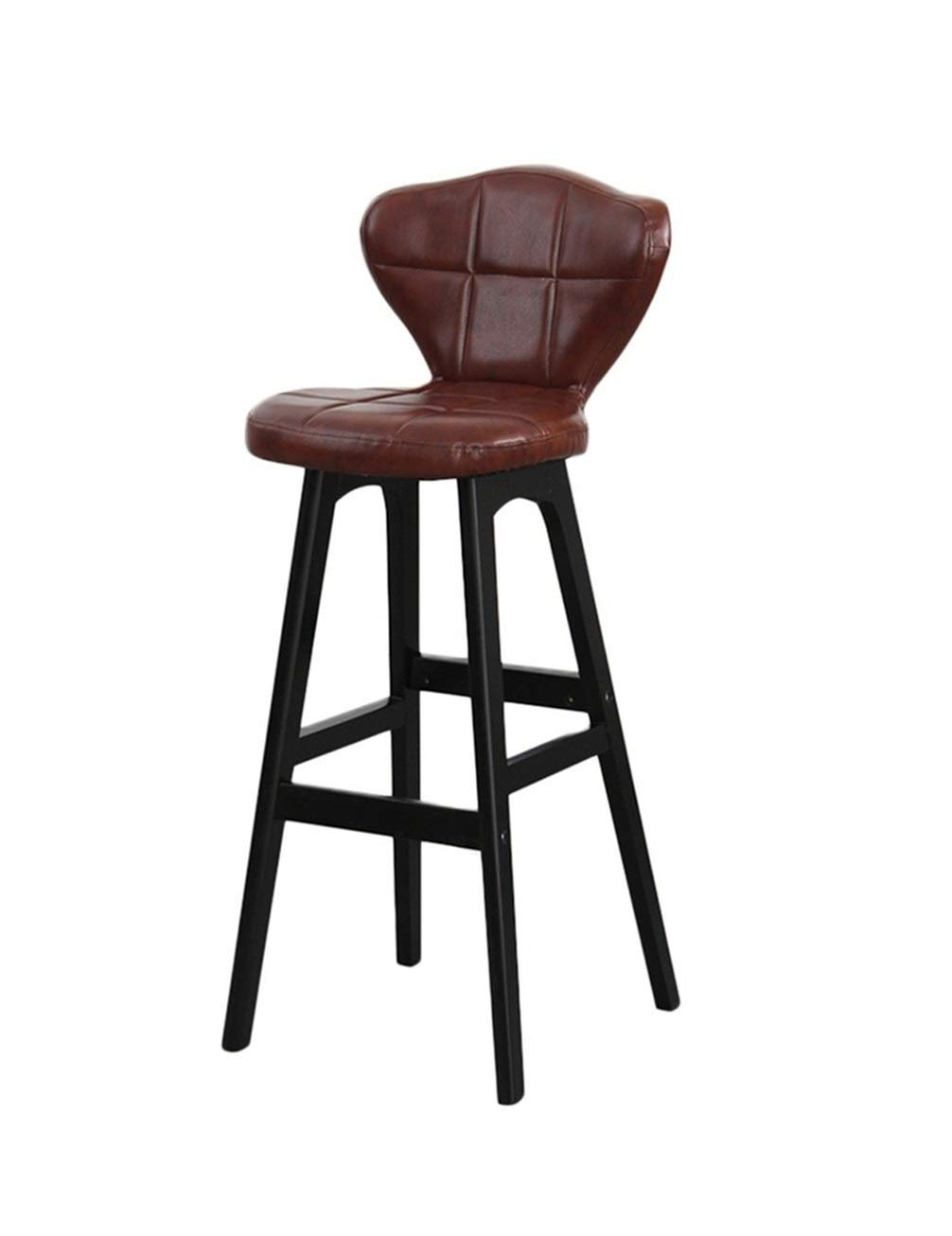 Wpjpzwj777 Kitchen Counter Bar Stool, A Variety of Styles Available, Pu Leather Seats Soft and Comfortable, Suitable for Families, Outdoor, Beauty Salons, Cafes, Bars and So On. (Color : 5) by Wpjpzwj777