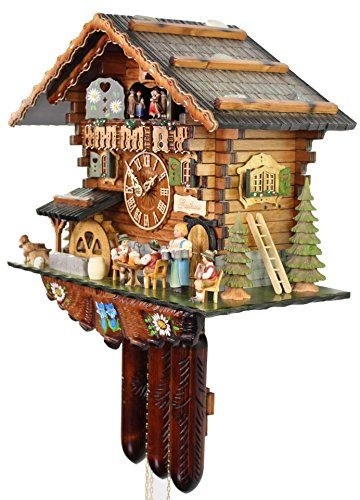 The Bavarian Guesthouse Cuckoo Clock by Adolf Herr 3