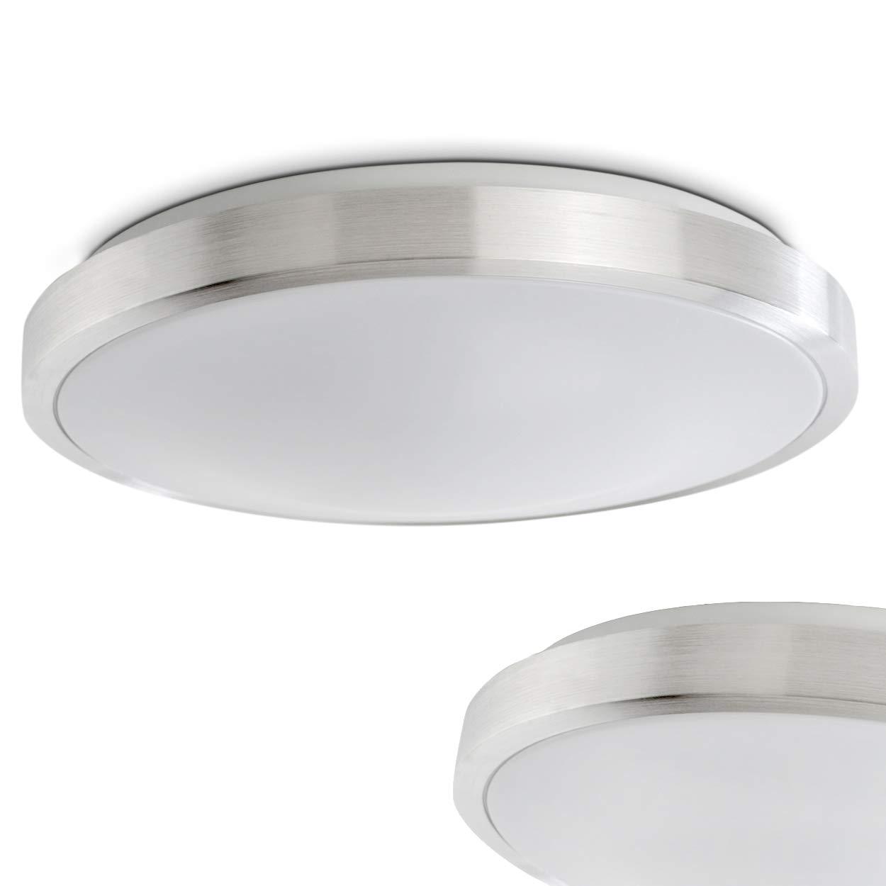 Led plafoniera 1x18 watt ip44 policarbonato lampada da soffitto bagno classe di efficienza for Lampada bagno soffitto