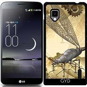 Funda para LG Optimus G (E975) - Steampunk, Libélulas Impresionantes by nicky2342
