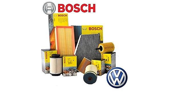 Kit de mantenimiento: 4 filtros Bosch Cayc (F026407023, 1457070013 ...