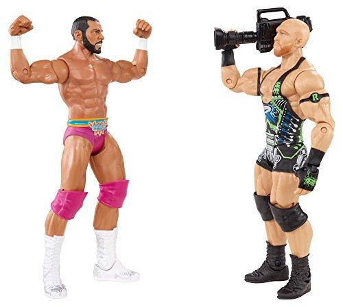 WWE Battle Pack Ryback vs. Jinder Mahal Action Figure, 2-Pack by Mattel