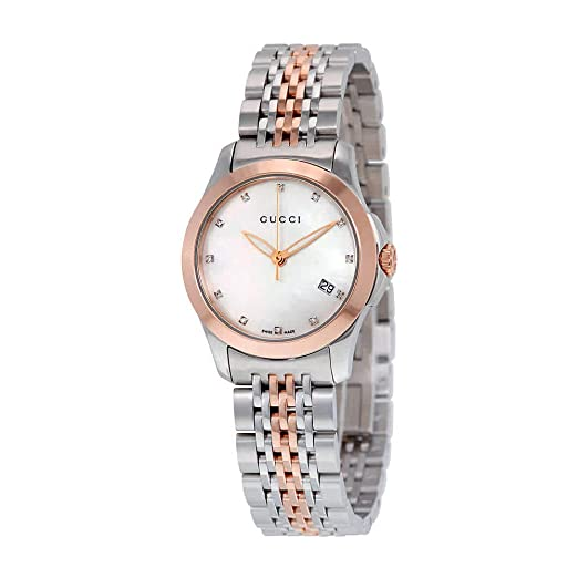 comprare on line 344d3 c9d86 Gucci Orologi da Donna YA126514: Amazon.it: Orologi