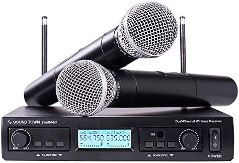 Sound Town 200 Channel Professional Microphones