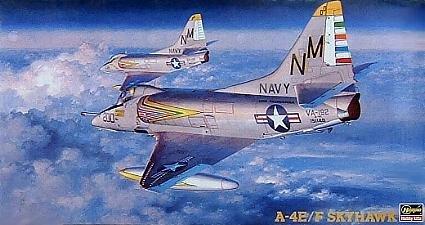 Hasegawa A-4E/F Skyhawk 1:48 Scale Military Model Kit