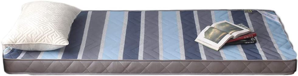 LPZF Transpirable Malla Tela Colchón, Algodón Acolchado Diseño Colchón Plegable Suave Grueso Cama Dormir-E 120x200cm H:6.5cm: Amazon.es: Hogar