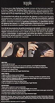 TOPPIK Hair Perfecting Tool Kit, 1.7 ounce