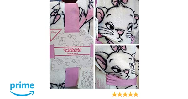 atmosphere Manta Polar Primark ~ Disney Aristocats ~ Marie Throw ~: Amazon.es: Hogar