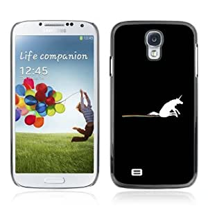 Designer Depo Hard Protection Case for Samsung Galaxy S4 / Unicorn Rainbow