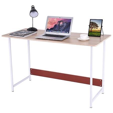 GXOK Escritorio de computadora de escritorio moderno y simple ...