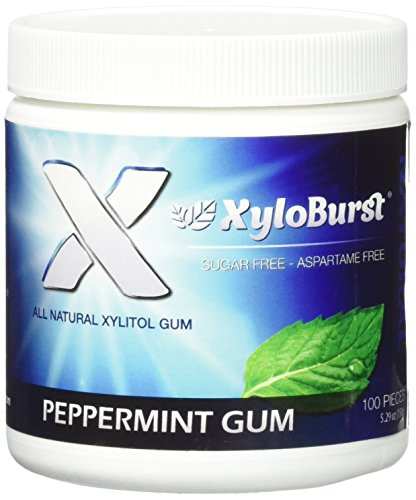 XyloBurst Gum Jar Peppermint 100 count (5.29oz)