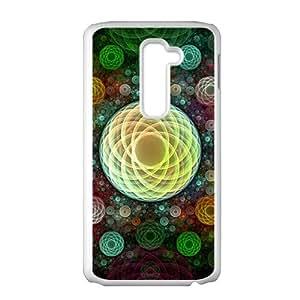 Artistic aesthetic fractal fashion phone case for LG G2