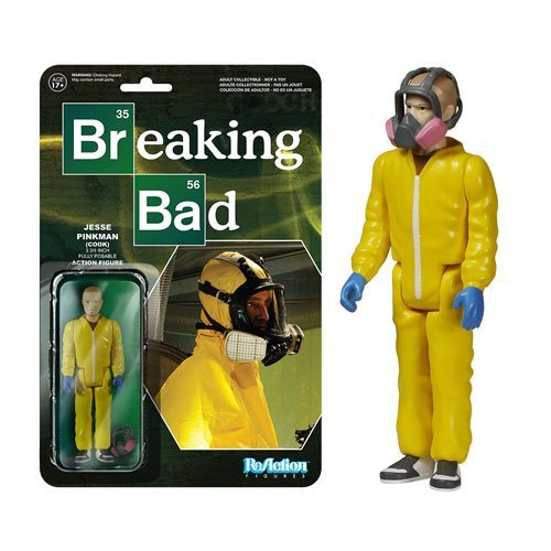 Breaking Bad Jesse Pinkman Cook ReAction 3 3/4-Inch Retro Action Figure by Breaking Bad