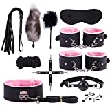 Chocobe Adult Toys Set Plush Set Bundled Binding Set Nylon Leather Suit Couple