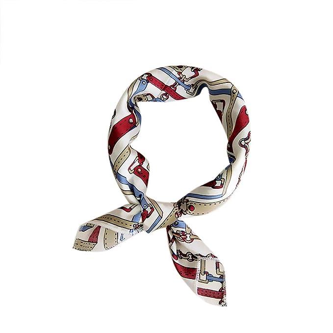 Purple paisley knotted hair wrap//head scarf//hair tie