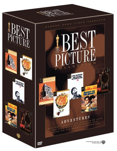Best Picture Oscar Collection - Adventures (Ben-Hur / Around the World in 80 Days / One Flew Over the Cuckoo's Nest / Mutiny on the Bounty / Unforgiven) (Around The World In 80 Days David Niven)