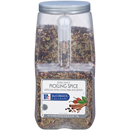 - McCormick Culinary Extra Fancy Pickling Spice, 3.75 lbs.