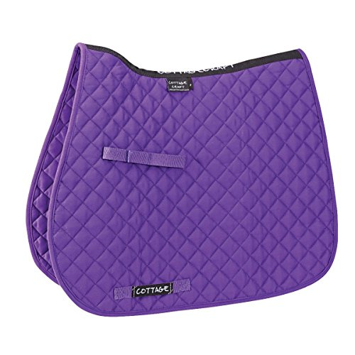 Cottage Craft Classic High Wither GP Saddlecloth (Full) (Purple) -