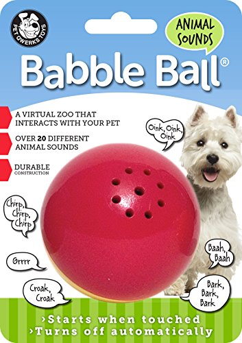 Top recommendation for pet qwerks animal sounds babble ball