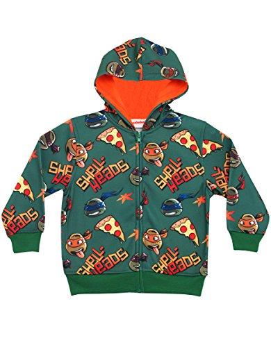 Teenage Mutant Ninja Turtles Shell-Heads Zip Up Juvy Hoodie Sweatshirt (Ninja Turtles Sensei)
