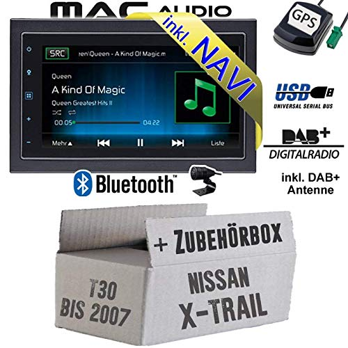 Autoradio Radio Mac Audio Mac 520 DAB Navi Einbauzubeh/ör Einbauset f/ür Nissan X 2-DIN Navigation USB Bluetooth DAB JUST SOUND best choice for caraudio